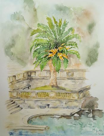 Jardin la fontaine