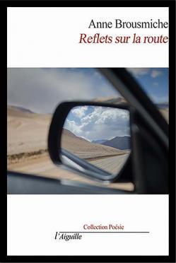 Reflet sur la route cadre